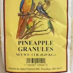 Birds Delight Pineapple Granules 1 lb bag