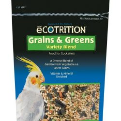 8 in 1 Ecotrition Grains & Greens Variety Blend for Cockatiels 6.5oz