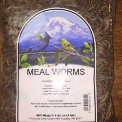 PNW Meal Worms (8 oz)
