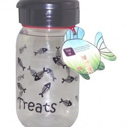 Lixit Cat Treat Jar Container (16oz)