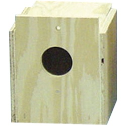 Bird Brainers Finch Nesting Box External Mounting