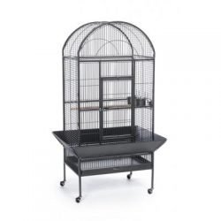Large Dome Top Cage - Black