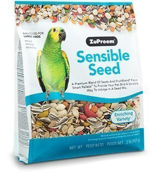 ZuPreem Sensible Seed Bird Food for Large Birds 2lb
