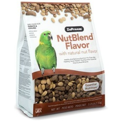 ZuPreem NutBlend with Natural Nut Flavors