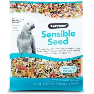 ZuPreem Sensible Seed Bird Food for Parrots & Conures 2lb