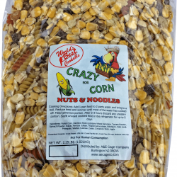 Crazy for Corn Happy Beaks Nuts & Noodles Bird Food