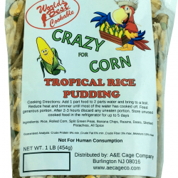 Crazy for Corn Happy Beaks Tropical Rice Pudding Bird Food
