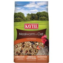 Kaytee Mealworms and Oats Poultry Supplement (3lb)