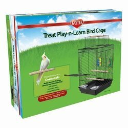Kaytee Cockatiel Treat Play-n-Lear Bird Cage