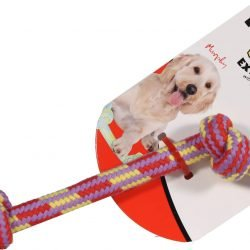 Extra 2 Knot Bone with Z-Core Dog Toy