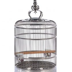 Prevue Pet Products Lotus Stainless Steel Cage Small