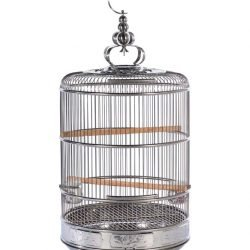 Prevue Pet Products Empress Stainless Steel Cage Medium
