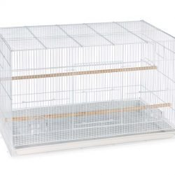 Prevue Pet Products Pre-Packed Flight Cage 4pc White (30in)