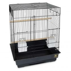 Prevue Pet Products Pre-Packed Parakeet or Cockatiel Square Cages 18x14 4pc