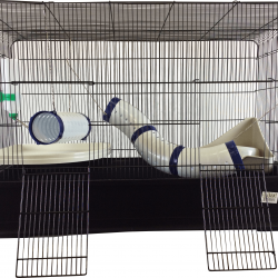 Ferret Cage Kit with Tubes
