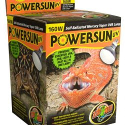 Zoo Med Powersun UVB Mercury Vapor Lamps