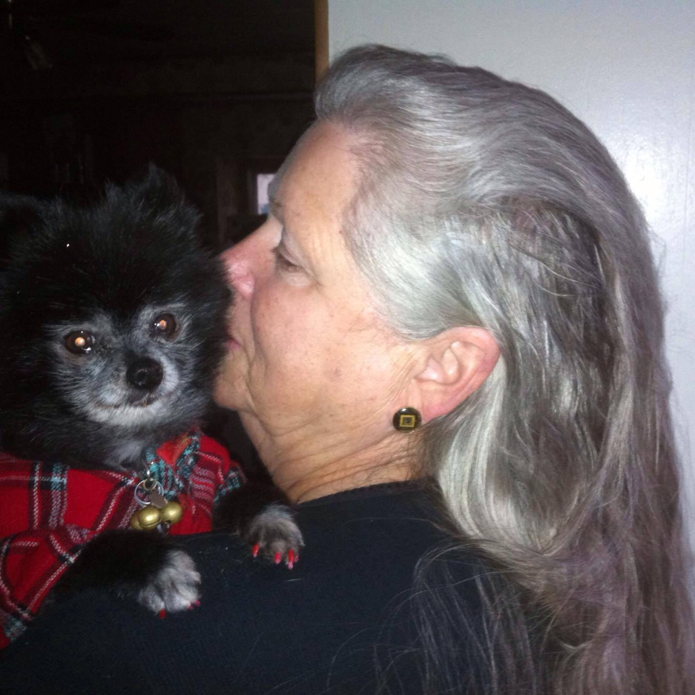 Phyllis Penland and Pookie