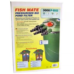 Fish Mate Bio Pond Filter With Powerclenz
