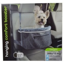 Bergan Comfort Hanging Booster Seat - Black (Small (Pets up to 30 lbs))