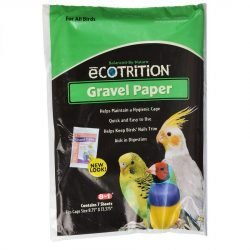 8-in-1 Gravel Paper for All Birds - 8.75 in., 13.475 in.