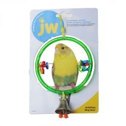 JW Insight Clear Ring Bird Perch (Clear Ring Bird Perch)