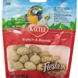 Kaytee Fiesta Krunch-A-Rounds - All Hookbills  (3 oz)