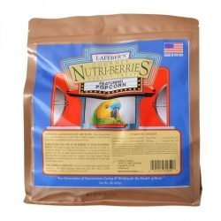 Lafeber Gourmet Nutri-Berries with Popcorn for Parrots  (1 lb)