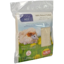 Lixit Cozy Nest Natural Cotton Bedding  (12 Count)