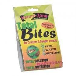 Nature Zone Total Bites for Feeder Insects  (2 oz)