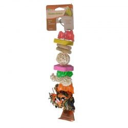 "Penn Plax Bird Life Combo-Kabob Parrot Toy  (12.5"" Long - (Small Parrots))"