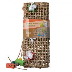 "Penn Plax Bird Life Natural Weave Bird Cage Climbing Exerciser  (14"" Long x 14"" Wide)"