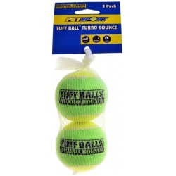 Petsport Tuff Ball Turbo Bounce  (2 Count)
