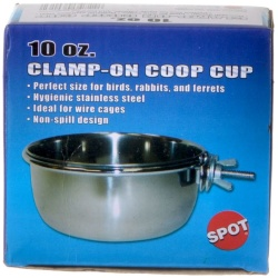 Spot Stainless Steel Coop Cup with Bolt Clamp  (10 oz)