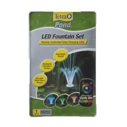 Tetra Pond LED Fountain Set with Remote Controlled Color-Changing LEDs  (1 Pack)