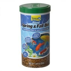 Tetra Pond Spring & Fall Diet Fish Food  (7.5 oz)