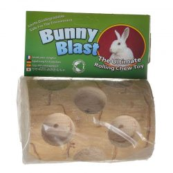 Wesco Bunny Blast - Rolling Log Chew Toy