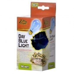 Zilla Incandescent Day Blue Light Bulb for Reptiles  (50 Watt)