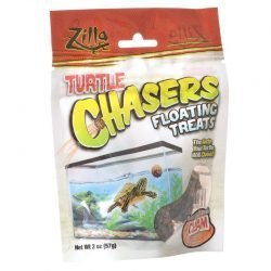 Zilla Turtle Chasers Floating Treats - Clam  (2 oz)