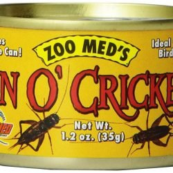 Zoo Med Can O' Crickets  (1.2 oz)