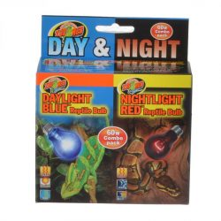 Zoo Med Day & Night Reptile Bulbs Combo Pack  (60 Watts - Combo Pack)