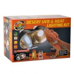 Zoo Med Desert UVB & Heat Lighting Kit  (Lighting Combo Pack)