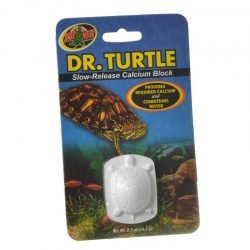 Zoo Med Dr. Turtle Slow Release Calcium Block  (Treats up to 15 Gallons (.5 oz))