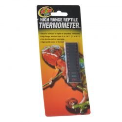 Zoo Med High Range Reptile Thermometer  (70-105 Degrees F)