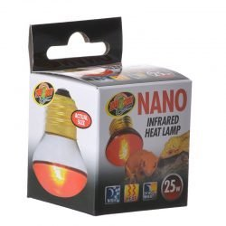 Zoo Med Nano Infrared Heat Lamp  (25 Watt)