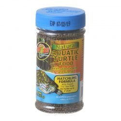 Zoo Med Natural Aquatic Turtle Food - Hatchling Formula (Pellets) (1.9 oz)
