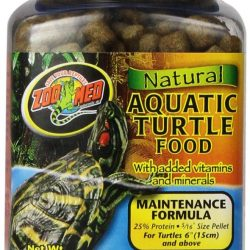 Zoo Med Natural Aquatic Turtle Food - Maintenance Formula (Pellets) (12 oz)