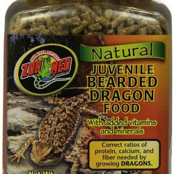 Zoo Med Natural Juvenile Bearded Dragon Food  (10 oz)