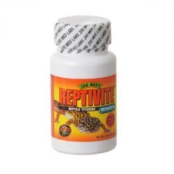 Zoo Med Reptivite Reptile Vitamins without D3  (2 oz)