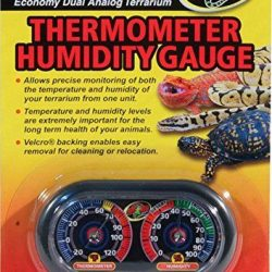 Zoo Med Terrarium Thermometer & Humidity Gauge  (Thermometer & Humidity Gauge)