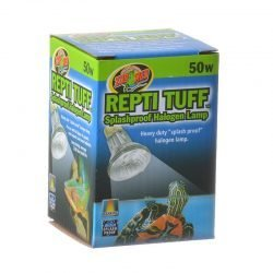 Zoo Med Turtle Tuff Splashproof Halogen Lamp  (50 Watts)